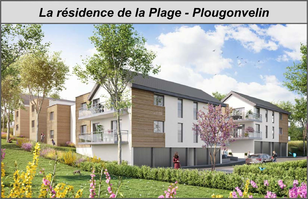Appartement Plougonvelin 3 pièce(s) 66.9m2 - PRIX PROMOTEUR