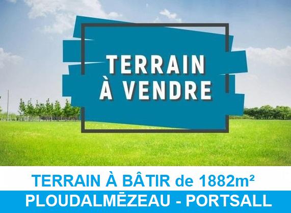 Terrain Portsall - Ploudalmézeau 1882 m2