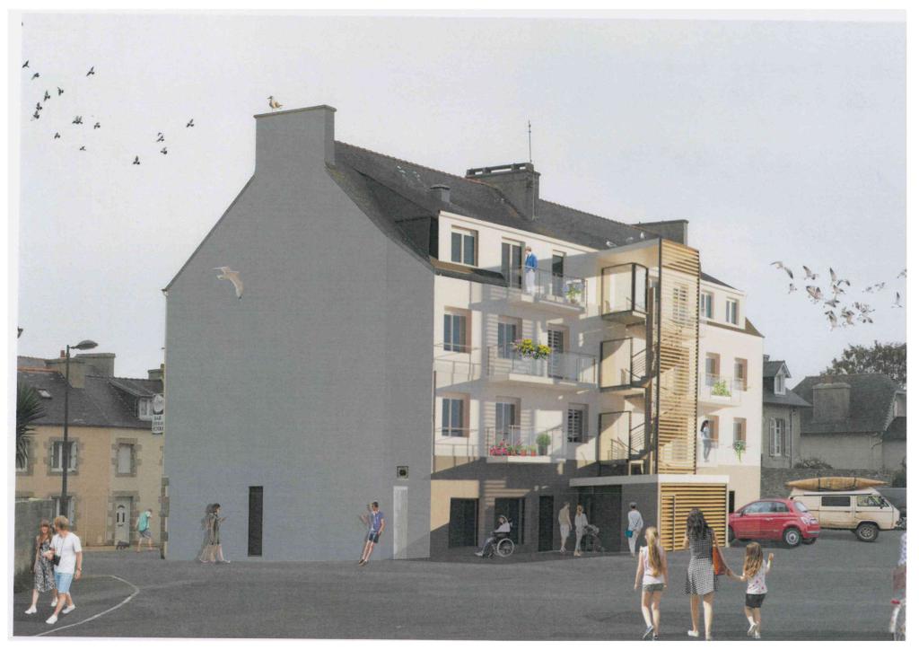Appartement T3 sur BRIGNOGAN PLAGES LOT 3