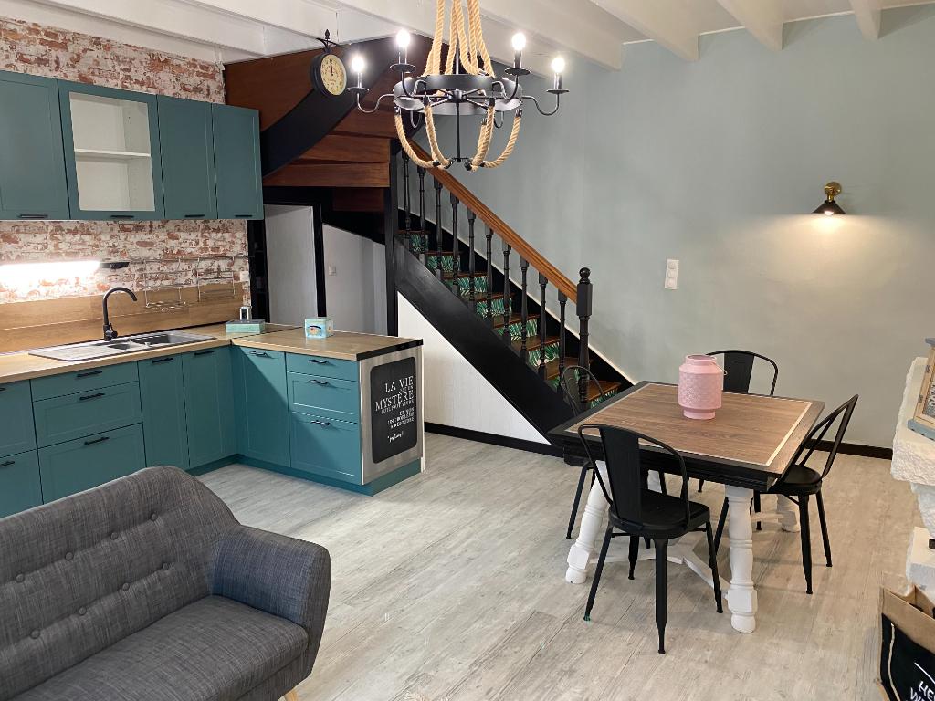 A vendre maison de bourg 3 chambres  1 garage , Ille et vilaine , Bretagne