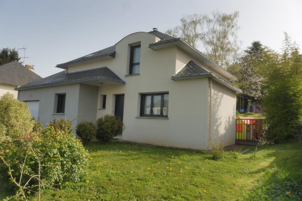Bretagne Ille et Vilaine Maison Guipry Messac 35480 contemporaine de123 m² hab