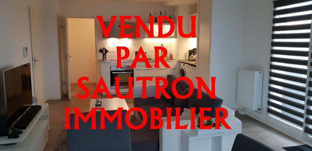 Appartement Saint Herblain 2 pièce(s) 52.63 m2