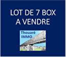 Lot de 7 BOX - Centre de Thouaré sur Loire