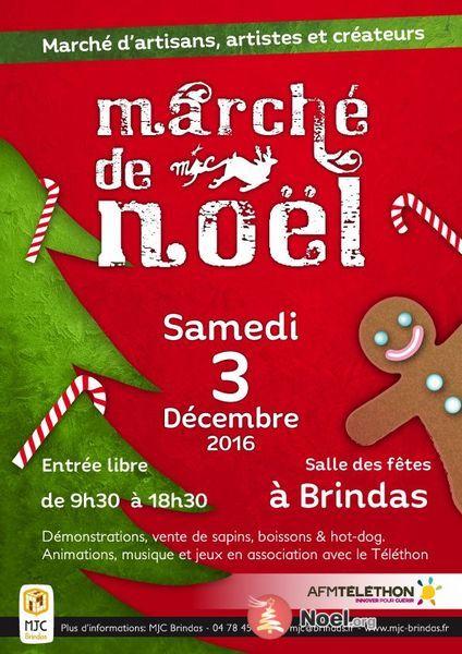 Le Marché de Noël s'installe à Brindas