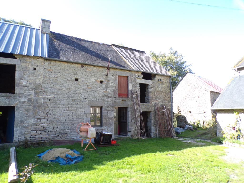 Brusvily, à 15 minutes de Dinan, à vendre bâtisse  en pierres à rénover photo 1