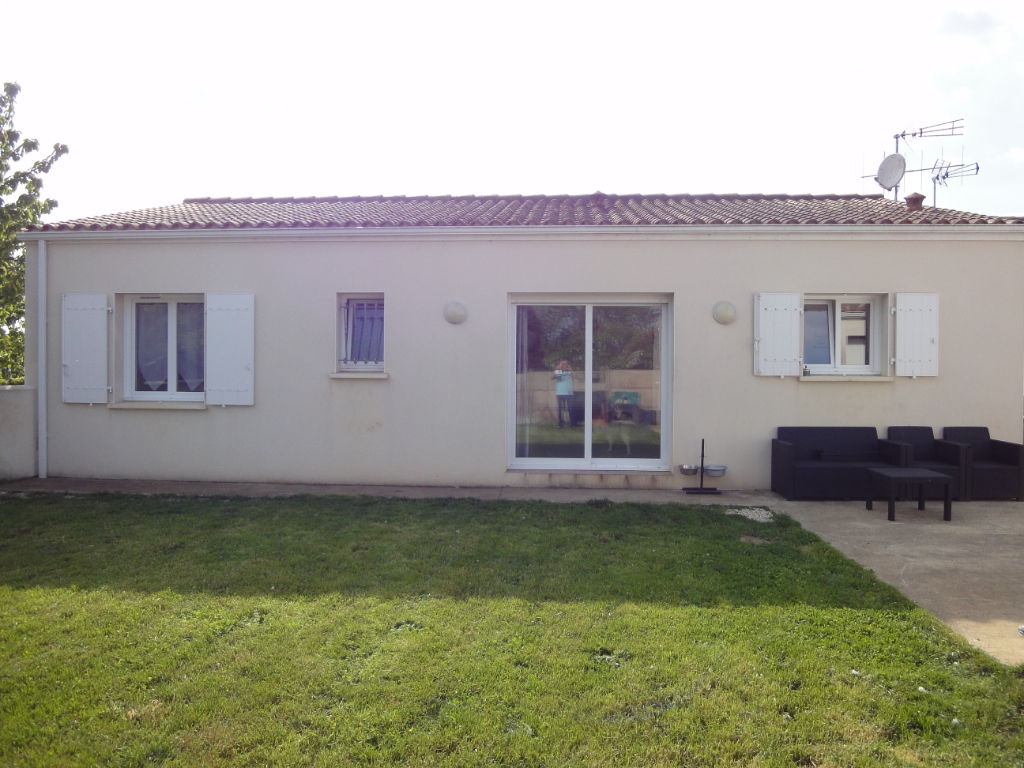 12 min ROCHEFORT : TRIZAY : Plain pied 2008 3 chambres + garage photo 1