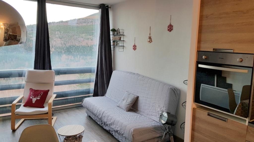 Appartement Montferrier studio renové avec gout 23 m2 aux pied des pistes photo 2
