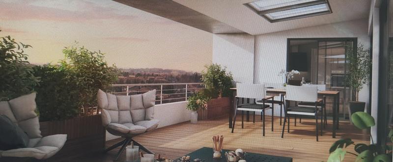 Appartement  t3 62.76 m2 à proximité des facs, avec un jardin privatif et 2 places de parking en sous sol ELIGIBLE ptz et loi pinel photo 2