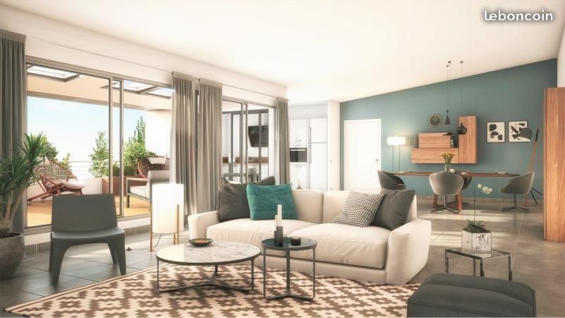 Appartement  t3 56.66 m2 à proximité des facs, avec terrasse et 1 place de parking en sous sol ELIGIBLE ptz et loi pinel photo 1