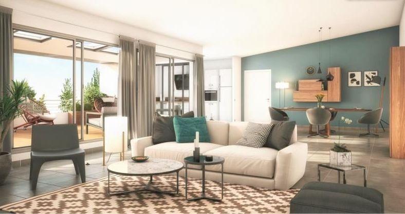 Appartement  t4 114.66m2  en dernier étage à proximité des facs, avec une terrasse de 19m² sans vis à vis et places de parking photo 1