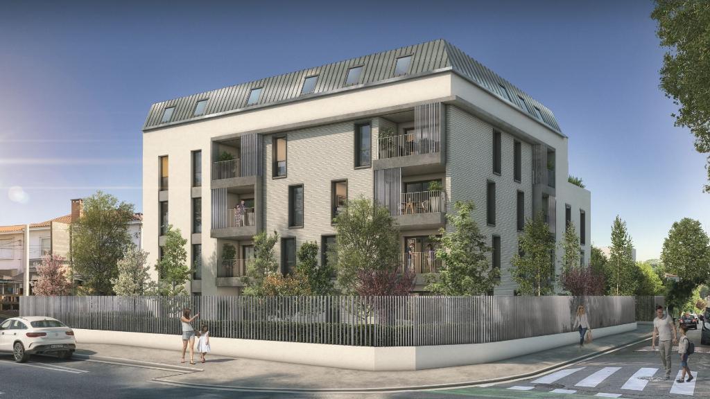 Appartement  t4 114.66m2  en dernier étage à proximité des facs, avec une terrasse de 19m² sans vis à vis et places de parking photo 2