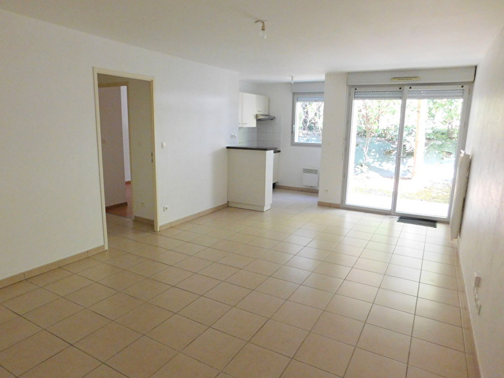 Toulouse Rangueil 31400 Appartement T2 de 45.40m² avec un jardin privatif, terrasse et une place de parking en sous sol photo 1