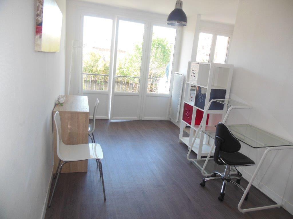 Toulouse 31000 Quartier Jardin des Plantes / port Saint Sauveur agreable T1 de 19,75m2 machine a laver, balcon de 4m2, cave et parking