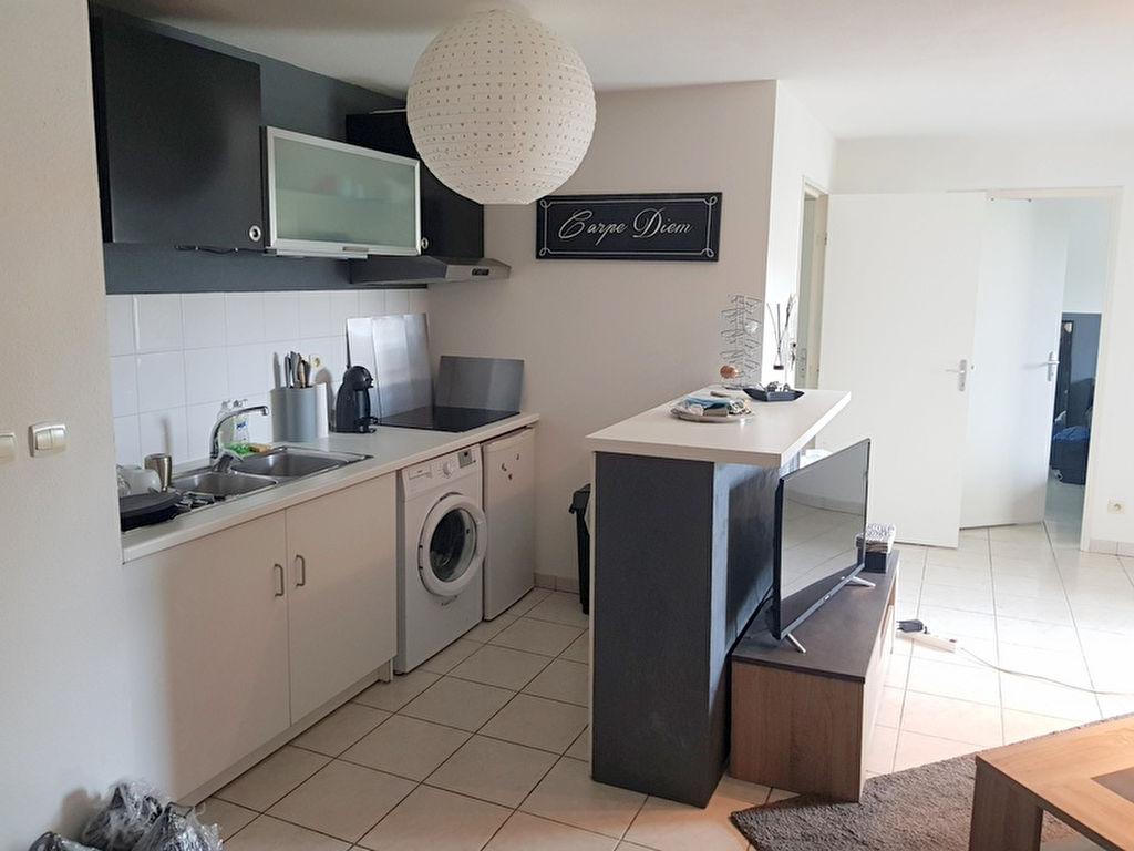Appartement Muret T2 a louer 42.7m2 avec un balcon 6m2, residence avec piscine, une place de parking.