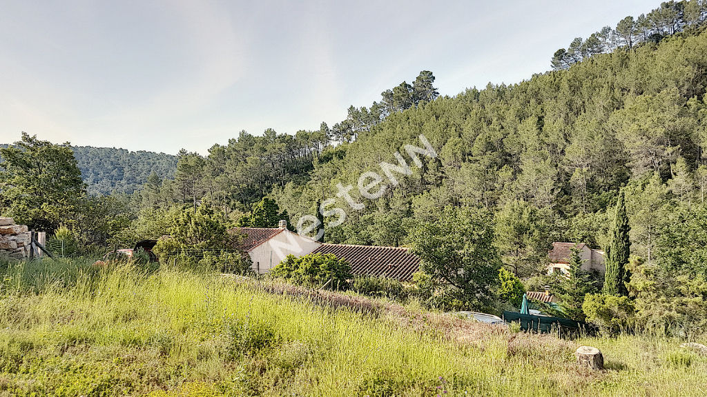 Terrain en restanques de 610m² vue dominante à Vins sur Caramy photo 1