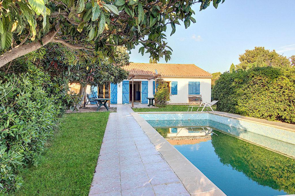 Maison Vitrolles 4 pièces plain pied d'environ  96 m² sur 712 m² de terrain plat avec piscine photo 1