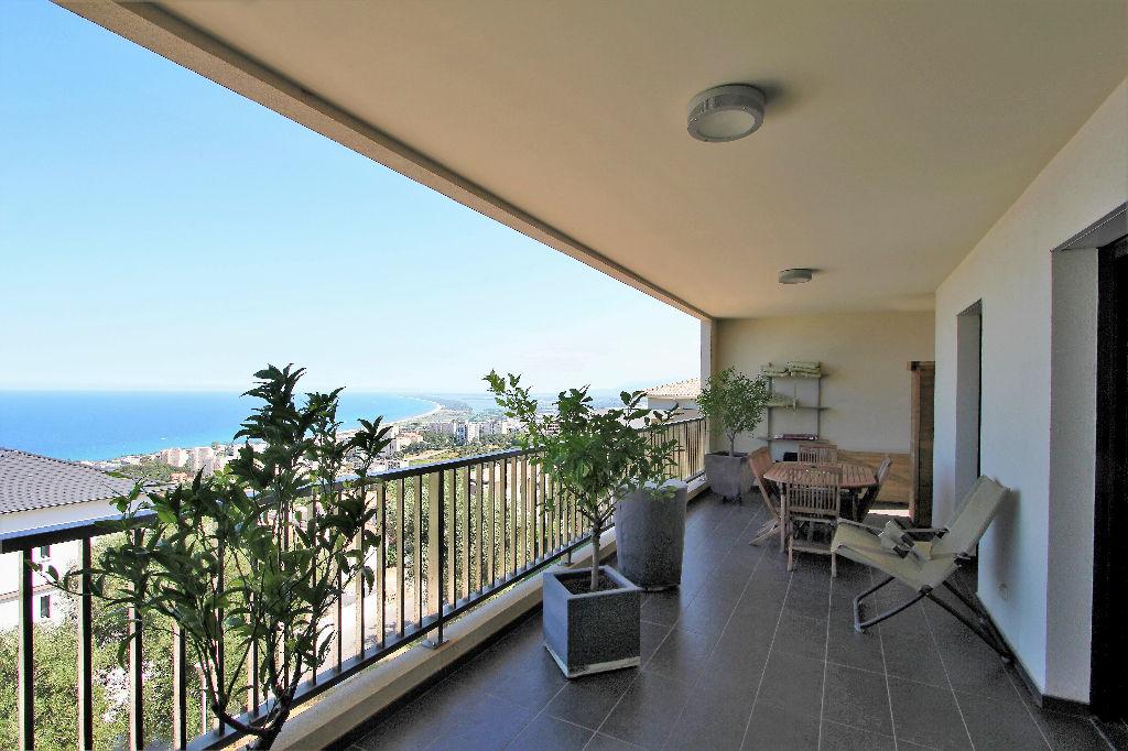 Hauteurs  Bastia,  Superbe Duplex de 160 M² + Terrasse 32m² vue mer+ pkg, cave,garage photo 1